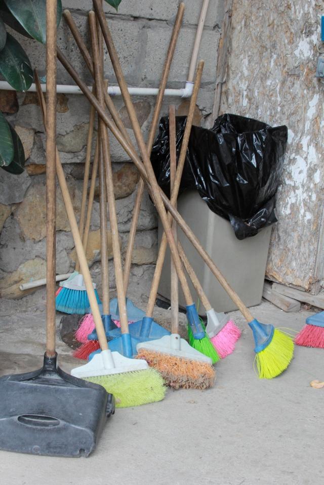 Brooms for everyone!