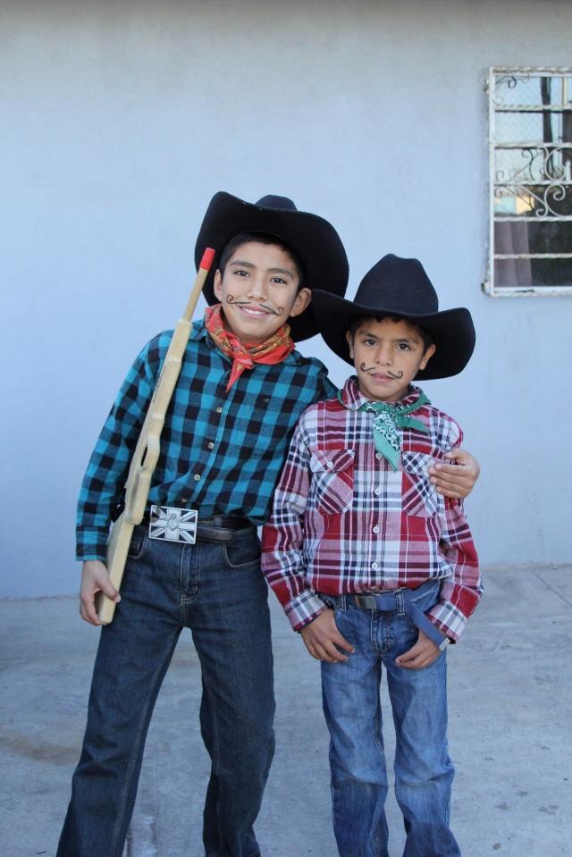 Mexico Revolution Day at school