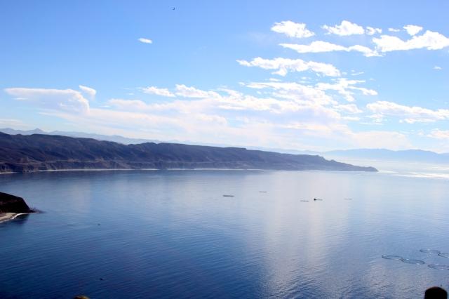 Baja California, Pacific Ocean