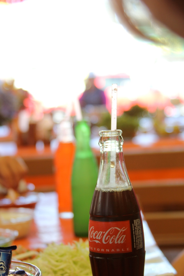 You can drink Coke in the entire world! We even had it in the deserts of Kenya.