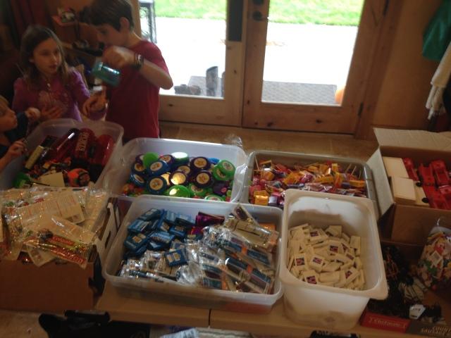 Organizing and assembling